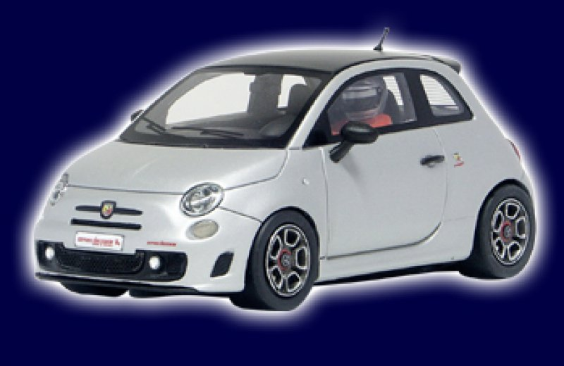 Fiat 500 Abarth silber Limited Edition