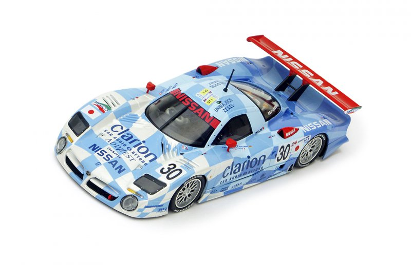 Nissan R390 GT1 - n.30 24h Le Mans 1998