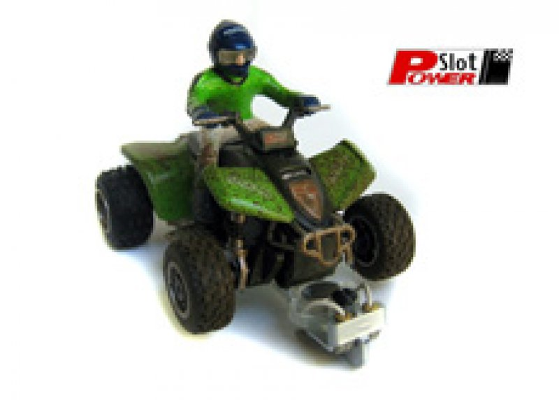 Quad Racer KWA grün mit Schmutzeffekt