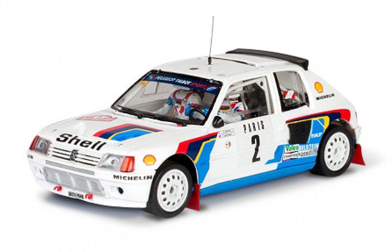 Peugeot 205 T16 Evo1 Vatanen Montecarlo'85