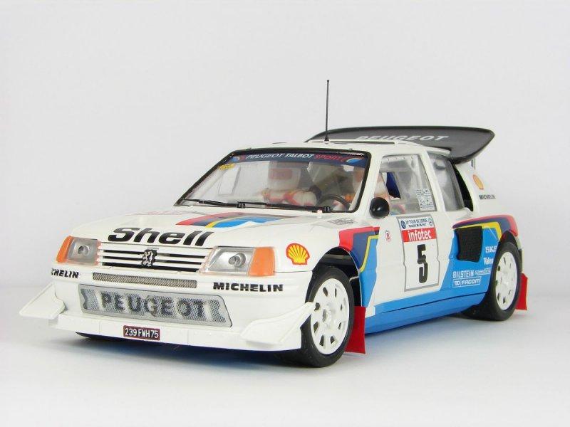 Peugeot 205 T16 Evo2 Saby-Fauchille Tour de Corse 1986 winner