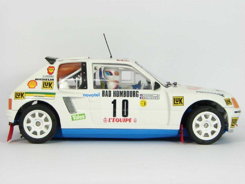 Peugeot 205 T16 Evo1 Mouton-Harryman Rally Montecarlo 1986