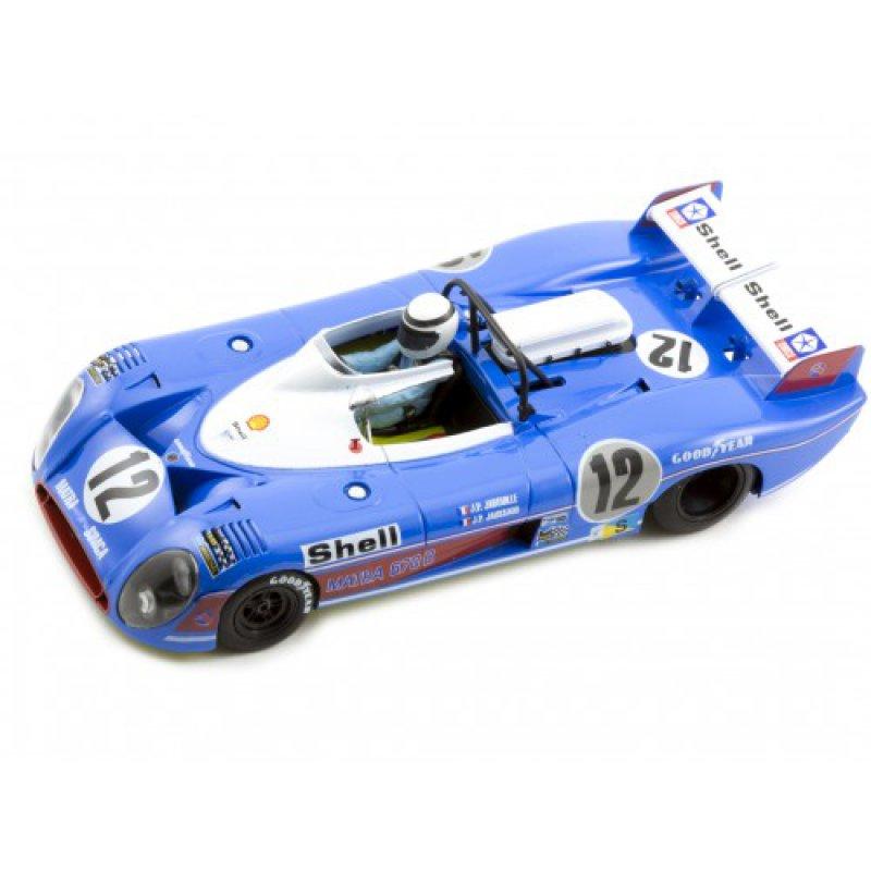 Matra 670B 24h Le Mans 73 J.P. Jaussaud - J.P.Jabouille