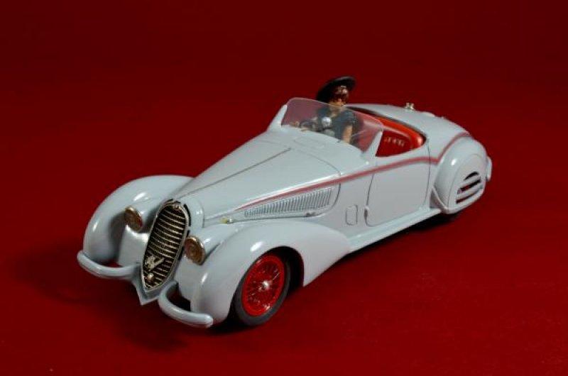 """Alfa Romeo 8C 2900B Spider """"Concours de Elegance"""""""