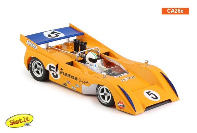 McLaren M8D #5  1st Can-Am Watkins Glen 1970