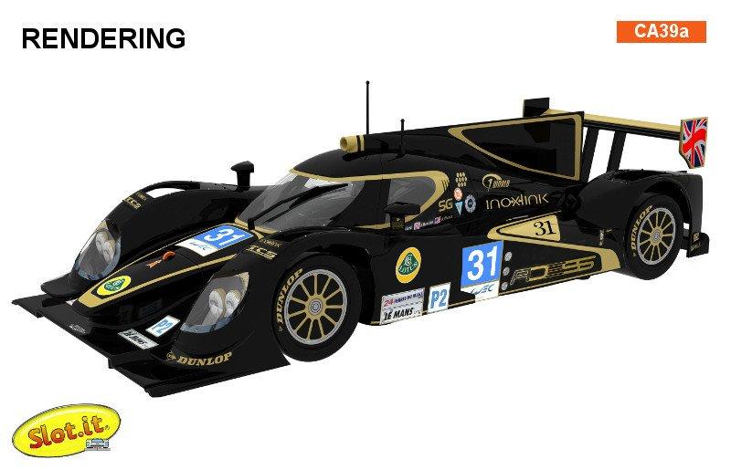 Lola B12/80 Le Mans 2012 #31