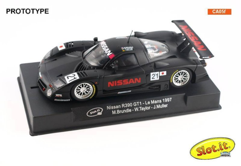 Nissan R390 Test Car Le Mans 1997 #21