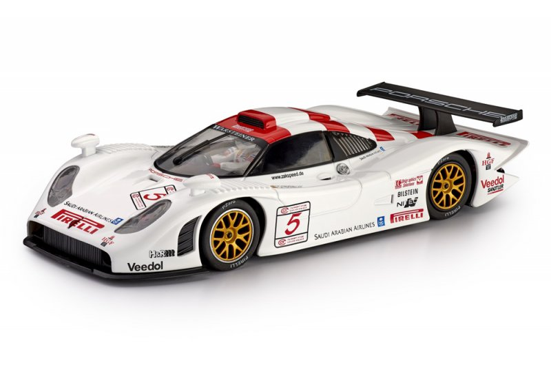 Porsche 911 GT1 EVO 98 FIA GT Silverstone 1998 No. 5