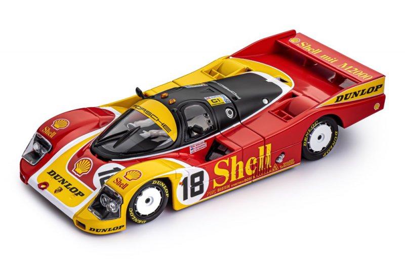 Porsche 962C LH - #18 - 24h Le Mans 1988