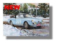 NEU: Alfa Romeo Guilietta Monte carlo 1961 von Slot Classic