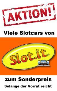 AKTION: Viele Slotcars von Slot.it zum Sonderpreis