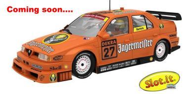 Alfa 155 Jägermeister von Slot.it...coming soon