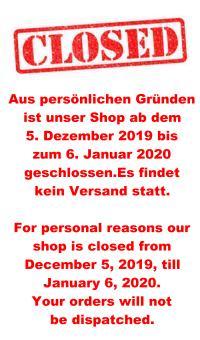 qIm Dezember 2019 geschlossen! In December 2019 closed!