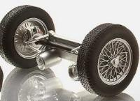 Reifen, Felgen und Achsen